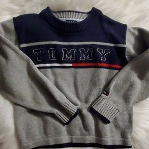 Boys size 4  Tommy Hilfiger sweater